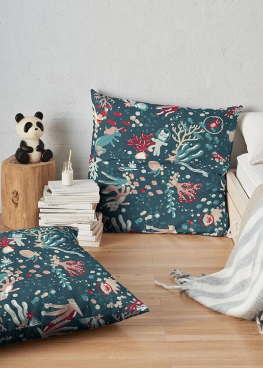 Ocean Wonderland Pillows